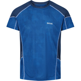 Regatta Camito Camiseta Hombre, nautical blue/dark denim